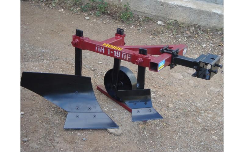 """Плуг 119 ПР с предплужником и опорным колесом """"Каменец"""" для тяжелых мотоблоков"""