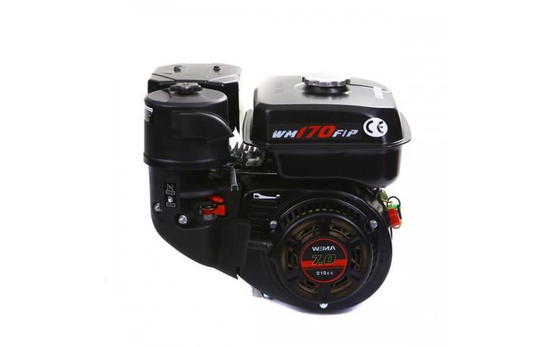 Weima WM170F-L NEW (шпонка Ø20 мм) с понижающим редуктором (7.0л.с.)