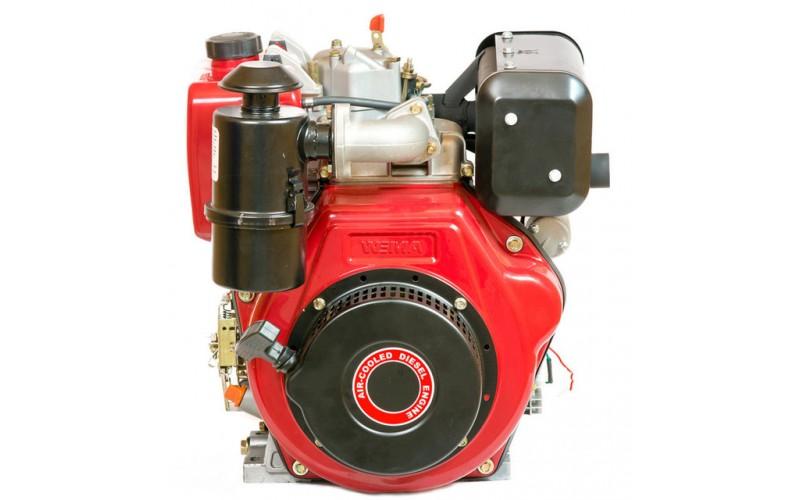 Weima WM186FBЕ (шлицы Ø25 мм) (9,5л.с.) (для мотоблока WM1100ВЕ) с электростартером, съемный цилиндр