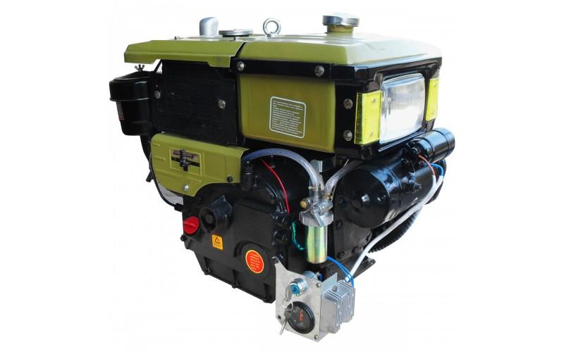 Двигатель ДД-190ВЭ (10 л.с.) с электростартером