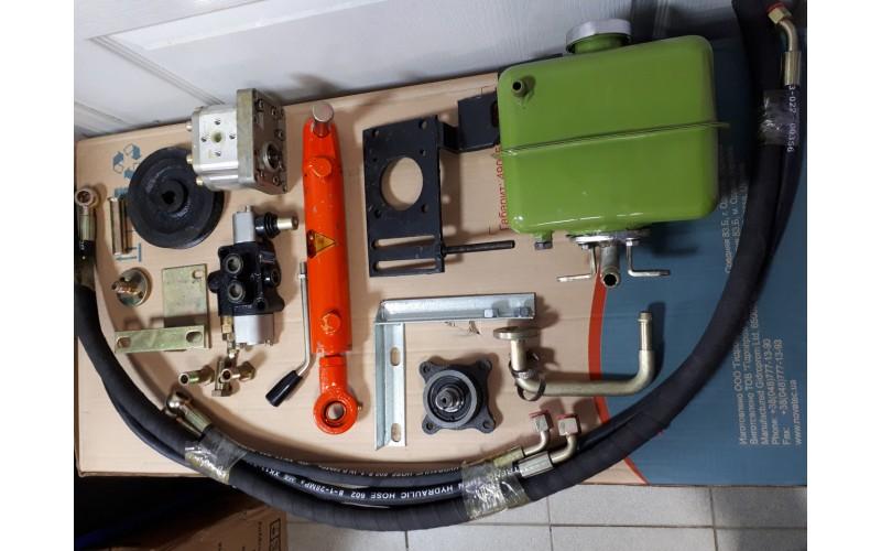 Комплект гидравлики на мототрактор (Производство Zubr)