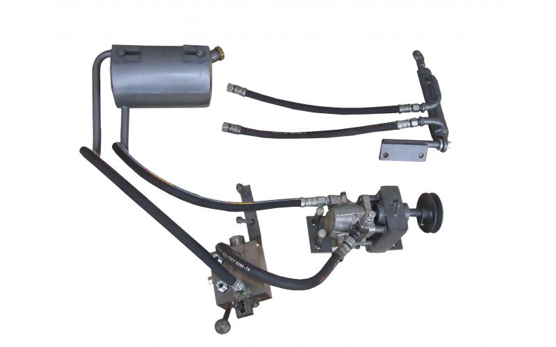 Комплект гидравлики на мототрактор
