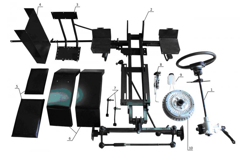 Комплект для переделки мотоблока в минитрактор  (Полтава)