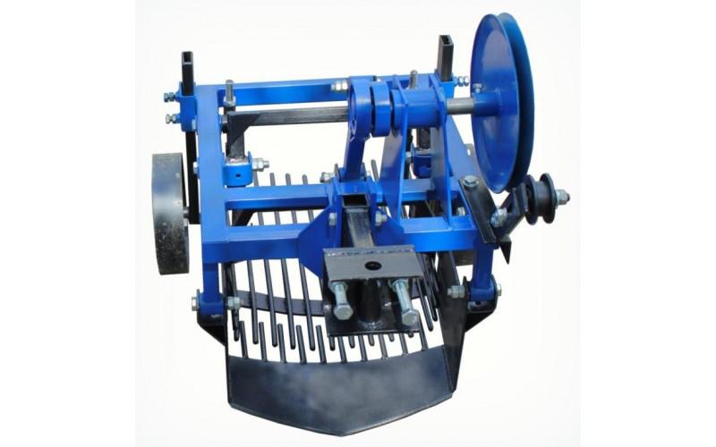 Картофелекопалка вибрационная для мототрактора с гидравликой, 2-х эксцентриковая (Скаут) (Полтава)