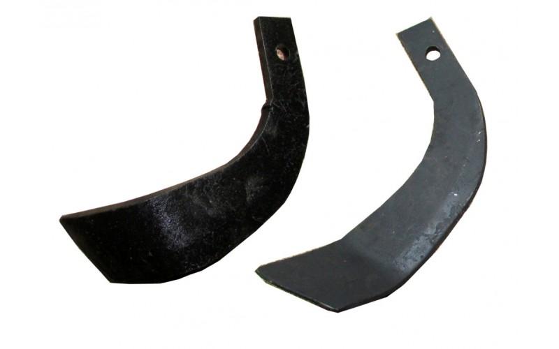 Нож для активной фрезы 185 мм 1шт (мотоблок) (Полтава)