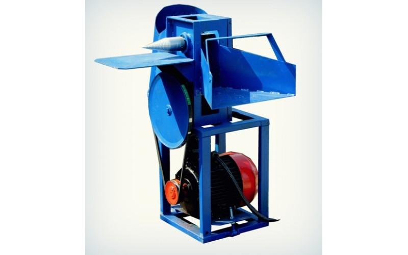 Измельчитель веток + дровокол под электродвигатель (без конуса, односторонняя заточка ножей) (Полтава)