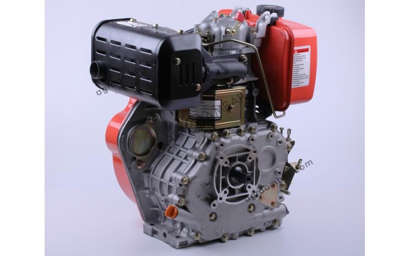 Двигатель 186F - (под шлицы Ø25мм) (9 л.с.)