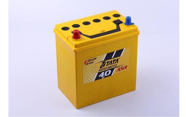Аккумулятор 40Ah 12V (кислотный обслуживаемый)