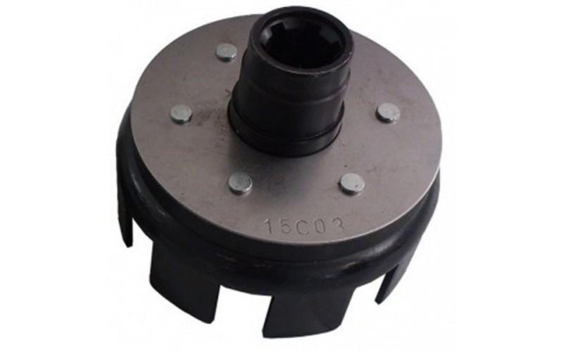 Корзина сцепления пустая (под шлицы Ø25mm) (178F/186F)