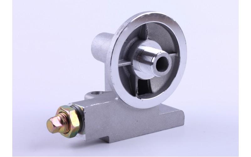 Кронштеин масляного фильтра с клапаном  КМ385ВТ