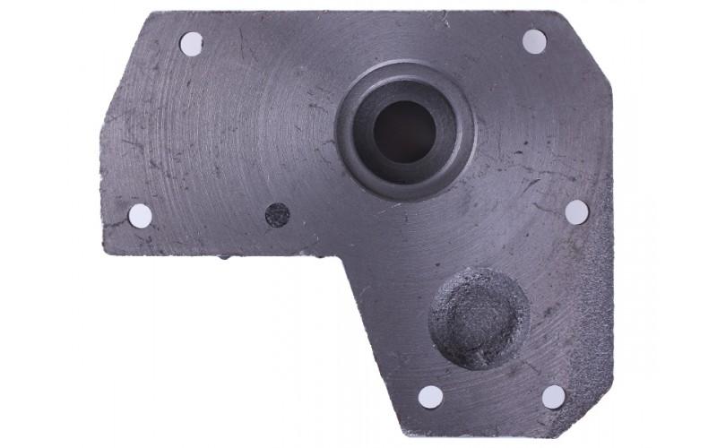Плита крепления гидронасоса на мототрактор (под 4 болта) — Мототрактор