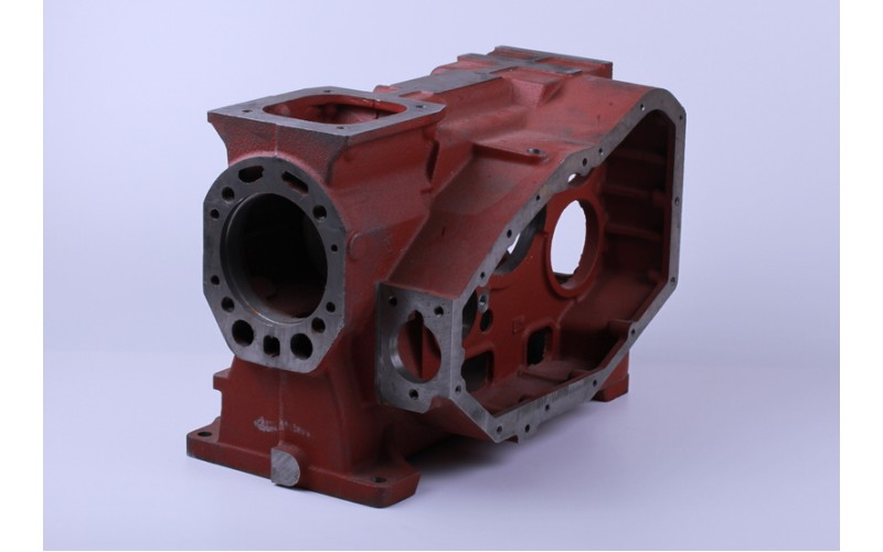 Блок двигателя (картер) (длинная крышка) (ZUBR original) (R180)