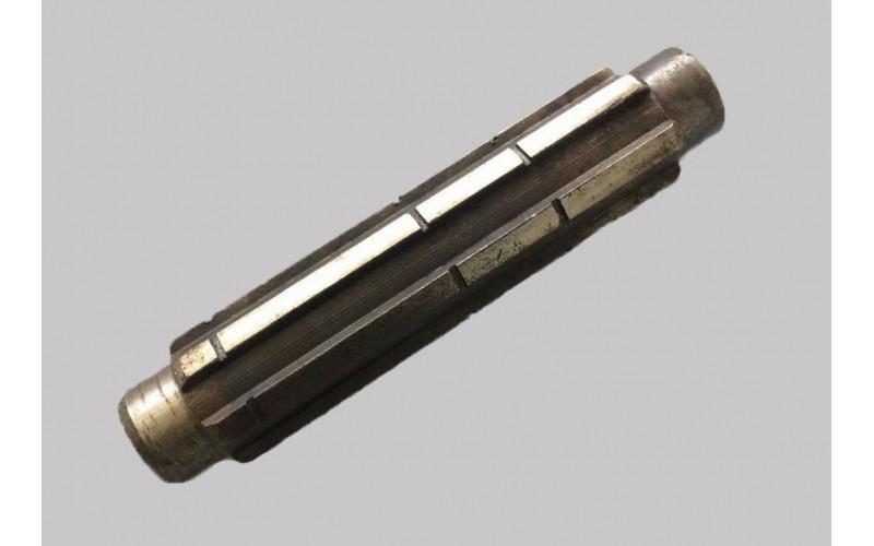 Вал первичный L-154mm Z-6 (редуктор фрезы)