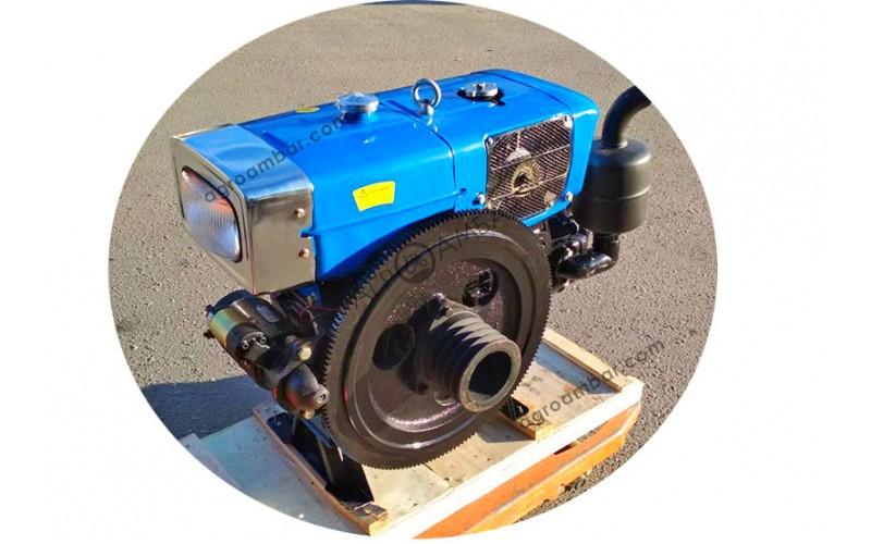 Двигатель Зубр ZH1100 (15 л.с) с электростартером