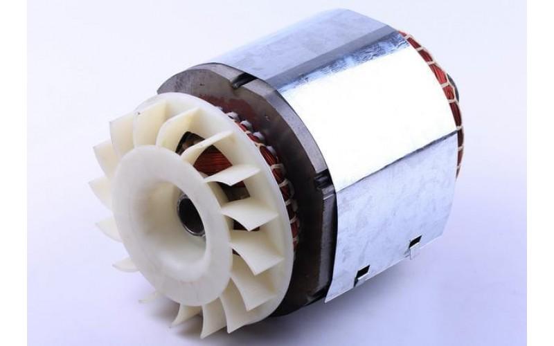 Статор в сборе с ротором 2,8KW (медь) - GN 2,8 KW