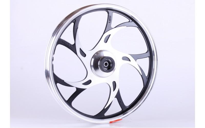 Колесо переднее титановое (усиленное, дисковый тормоз) 3,4kg - Актив