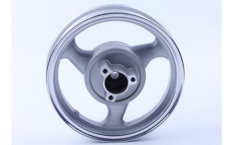 Диск задний литой 12*2,5 (19 шлицов, диск.тормоз) на 125/150CC